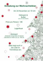 abgesagt einladung zur weihnachtsfeier am 24 november. Black Bedroom Furniture Sets. Home Design Ideas